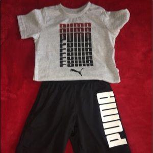 Puma basketball outfit